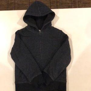 Boys Old Navy fleece lined hoodie